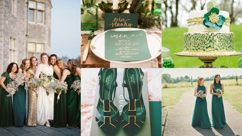 wedding colour combinations