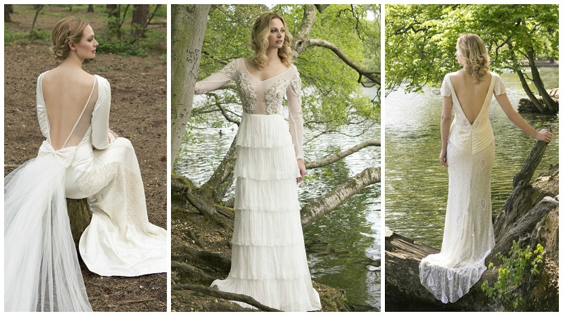 H m s 150 gown and other eco friendly wedding dresses for Eco friendly wedding dresses