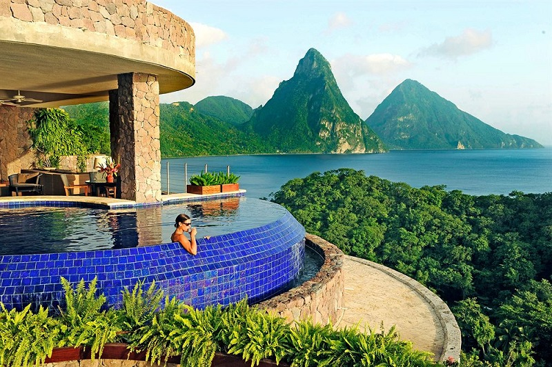honeymoon in st lucia