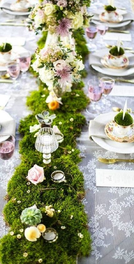 easter wedding ideas - decor
