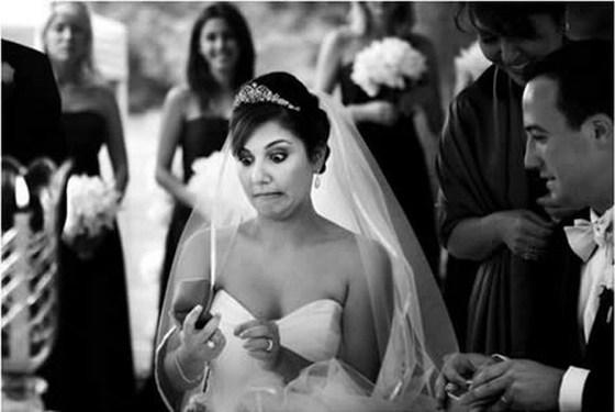 wedding day fails ring