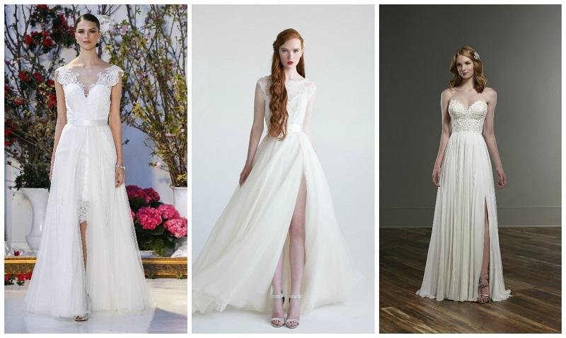 thigh split wedding dress 5