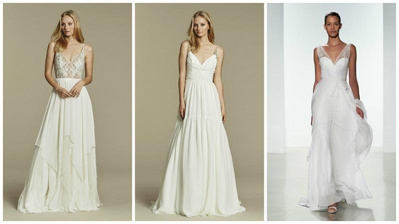 lightweight wedding dress 2