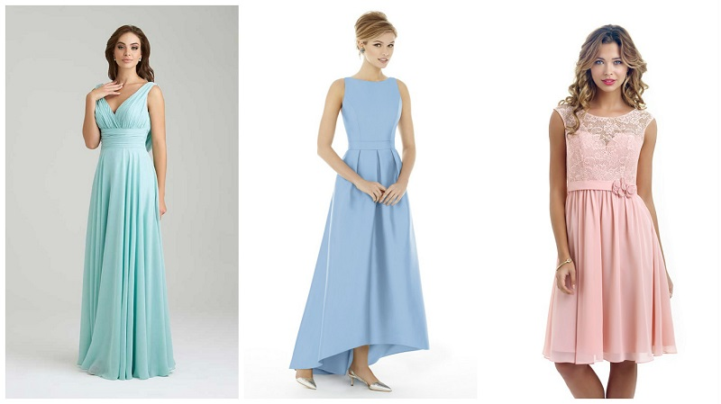 Bridesmaid dresses your friends will love - pastel 2