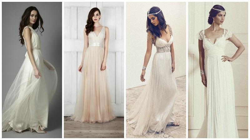 lightweight wedding dress 6