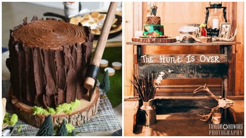 bro-dal shower cake ideas