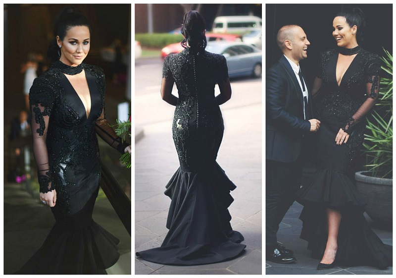 black wedding dresses 2