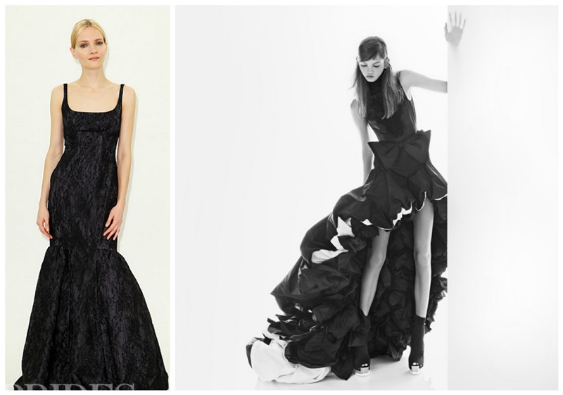 black wedding dresses 5