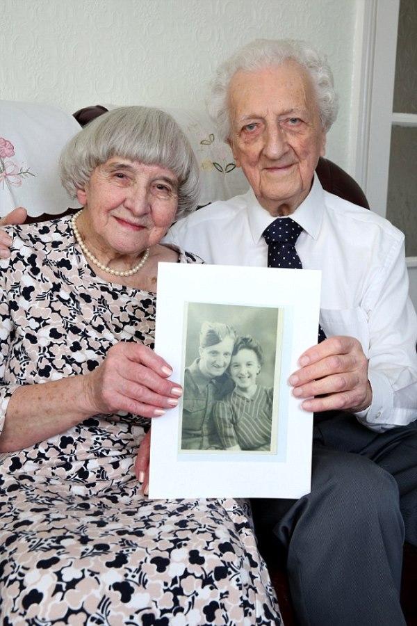 fiancee and world war veteran 1
