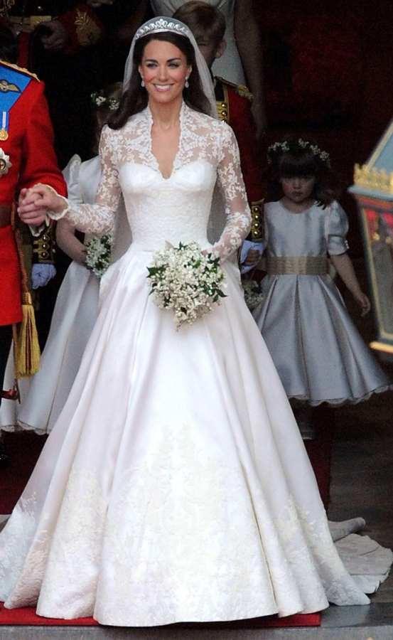 kate middleton royal wedding dress copyright 1