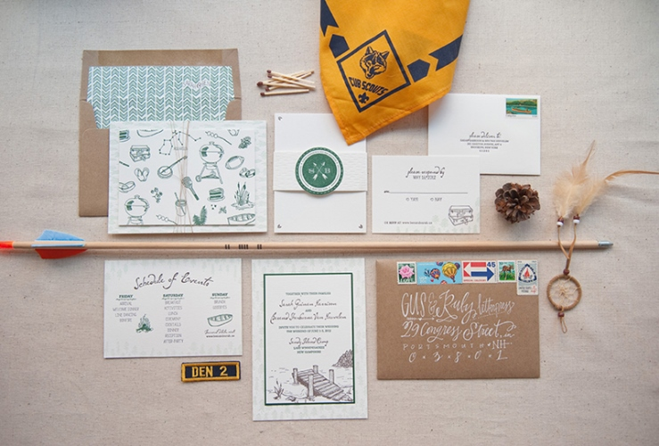 summer camp destination wedding 1