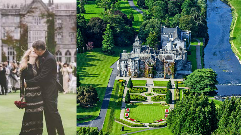 celebrities who got married in ireland