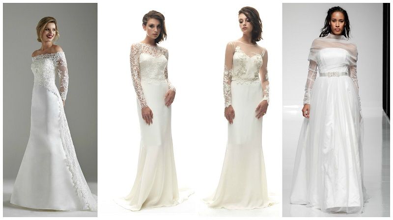 wedding dress sleeves 2
