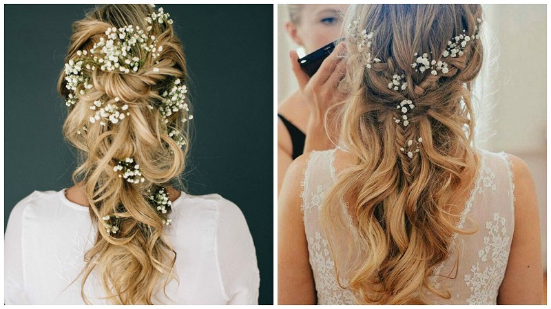 Romantic up dos for long hair 1