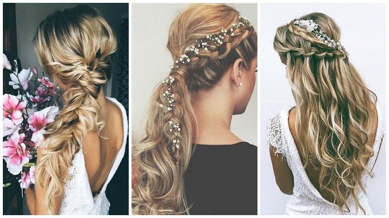 boho wedding hair styles for brides 1