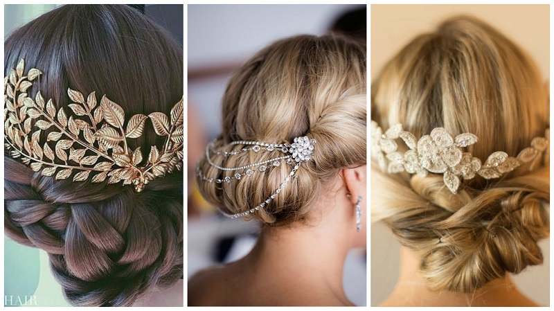 Wedding Pinterest hair