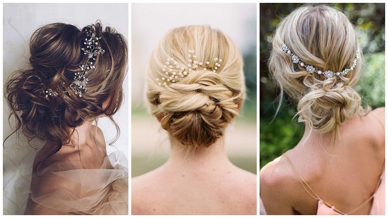 Up Styles For Long Hair: Amazing Wedding Hairstyles For Long Hair