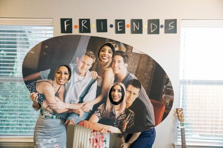 friends themed bridal shower 6