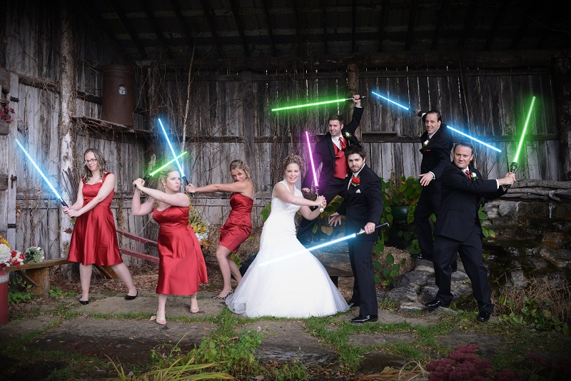 Couple Host Star Wars Themed Wedding