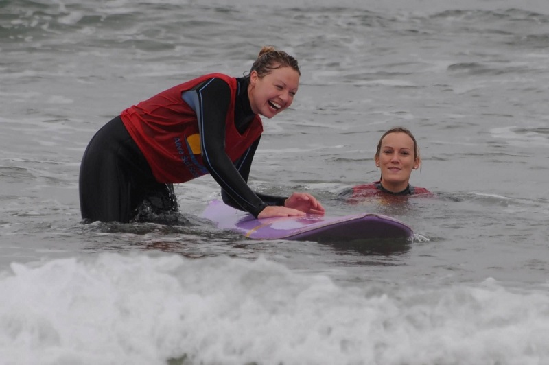 hen party packages - surfing