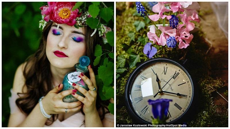 Alice in Wonderland themed wedding 4