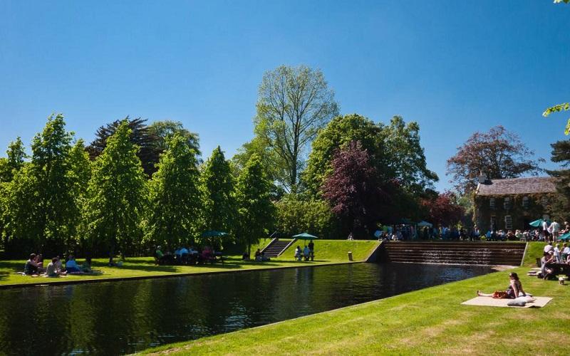 irish wedding venues with gardens ballintubbert