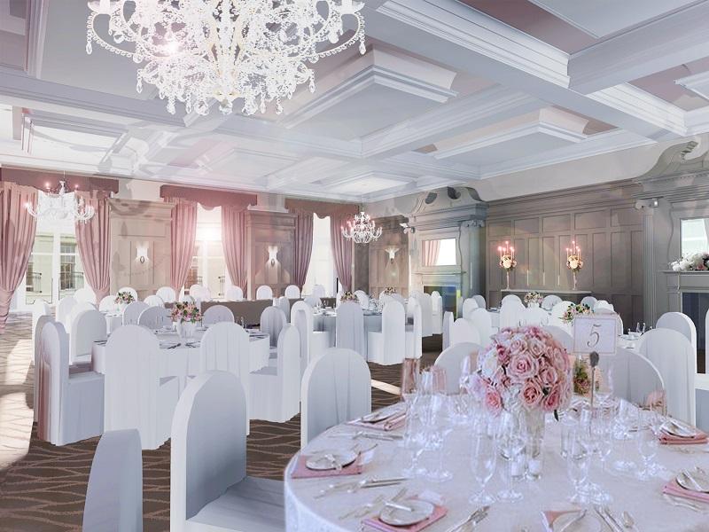 new wedding venue Bishop's Gate Hotel