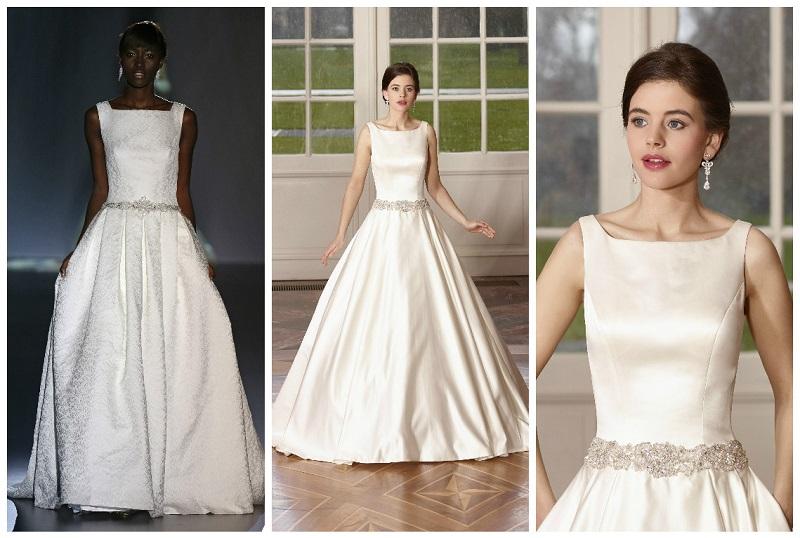 wedding dresses with high necks 8