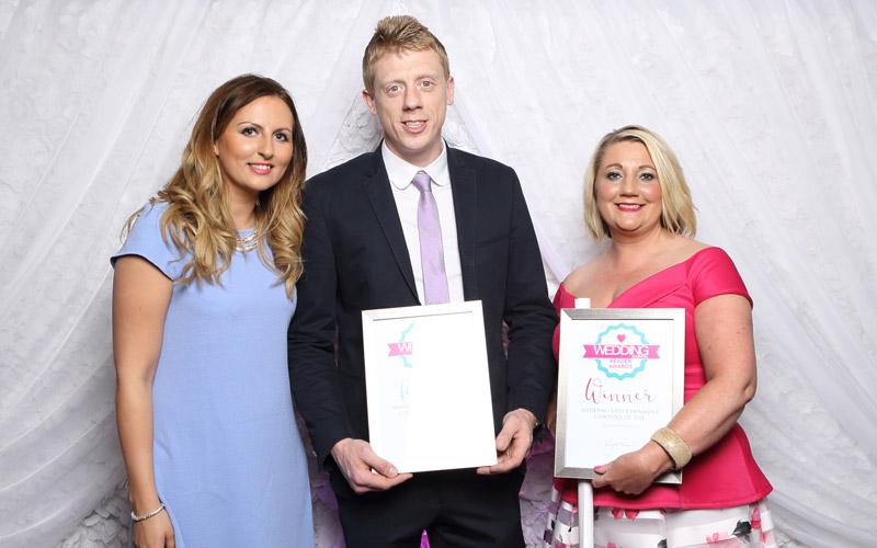 Wedding journal reader awards entertainment