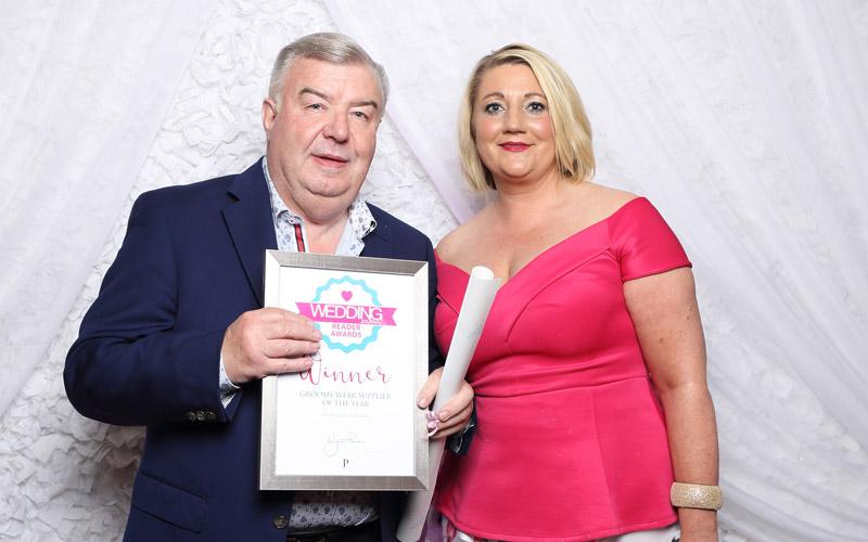 wedding journal reader awards grooms wear