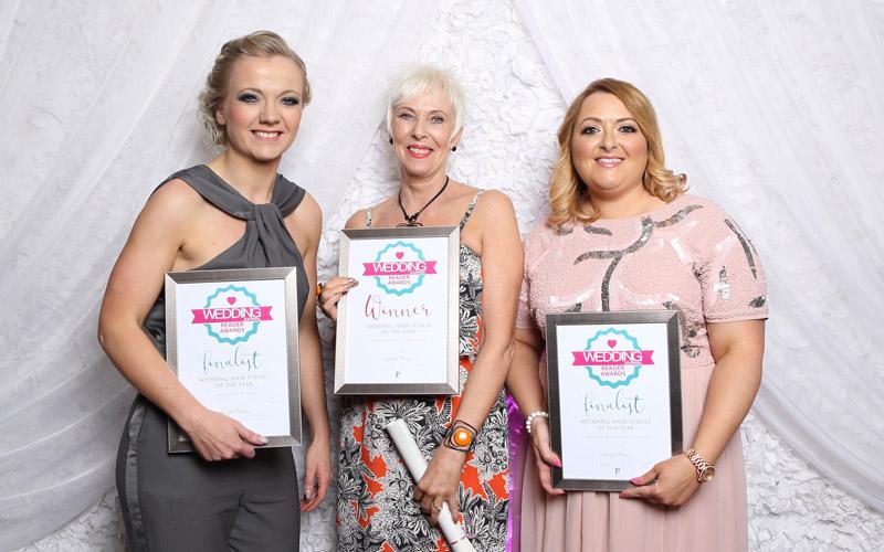Wedding Journal Reader Awards hair stylist