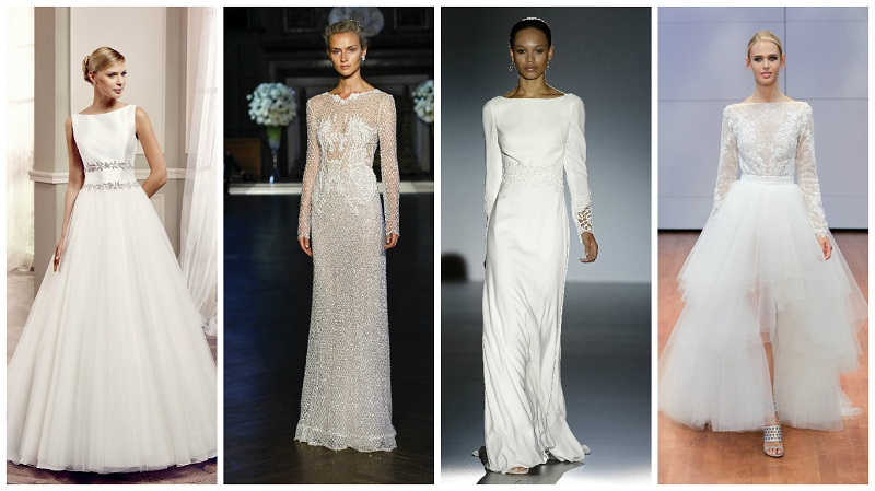 wedding dresses with high necks 4