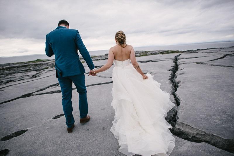 Cliffs of Moher wedding 2