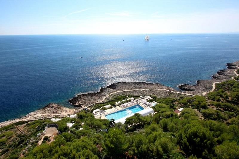 The Mediterranean from Grand- Hotel du Cap- Ferrat