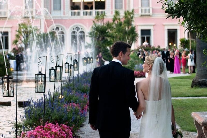 Villa & Jardins Ephrussi Rothschild Dream Weddings at St Jean Cap du Ferrat