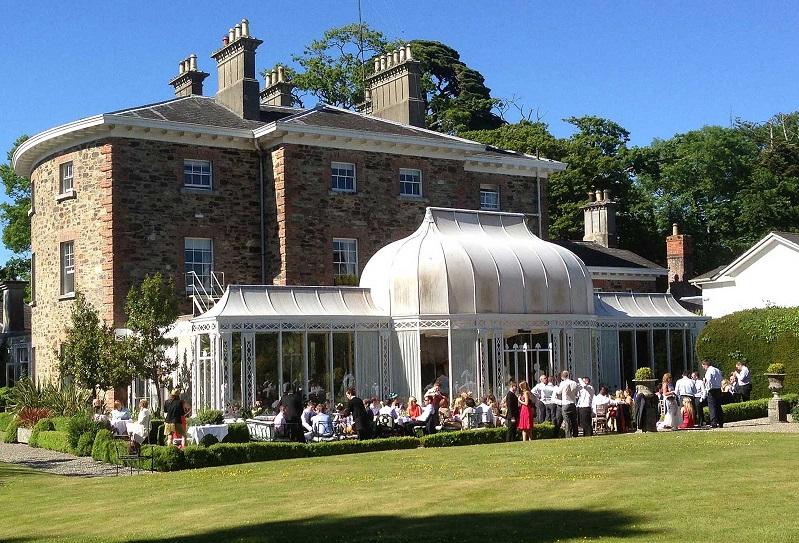 Irish Wedding venue Marfield House