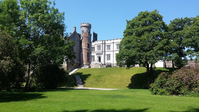 irish wedding venues with gardens Wilton castle