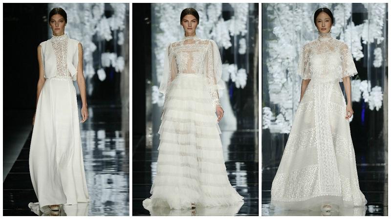 wedding dresses with high necks 7