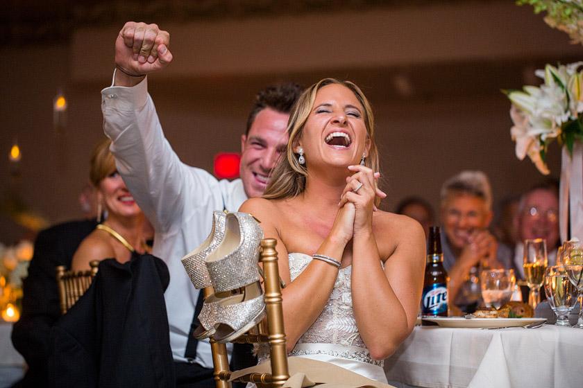 wedding picture speech reaction