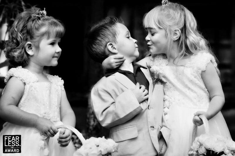 in between monents wedding pictures