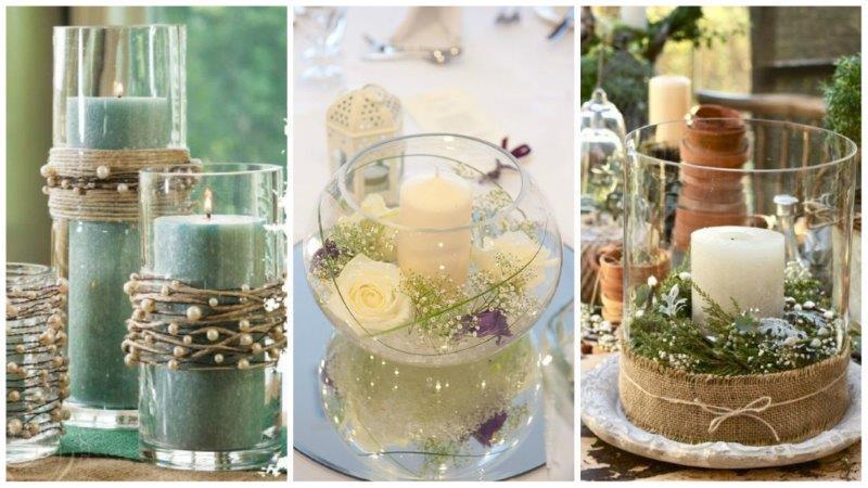 wedding table centrepiece 3