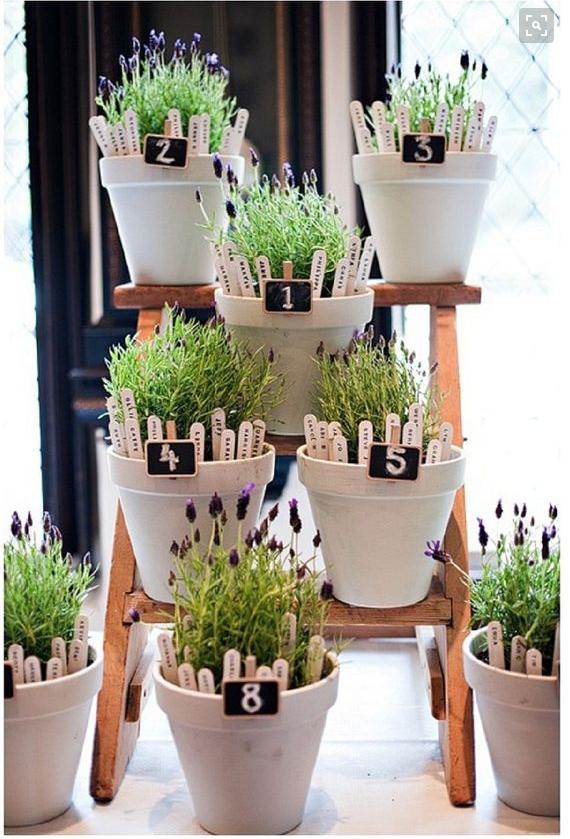Flowerpot table plan, Want That Wedding