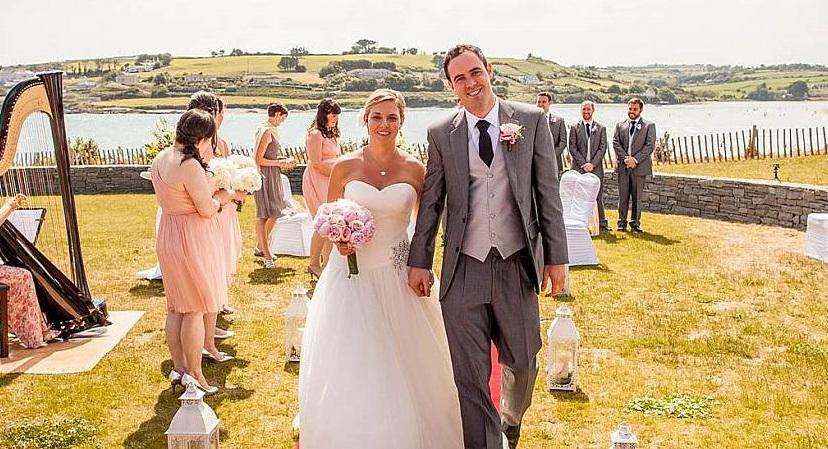 Alternative wedding venue Inchydoney Island Lodge and Spa