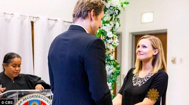kristen bell shares never before seen wedding photos wedding journal