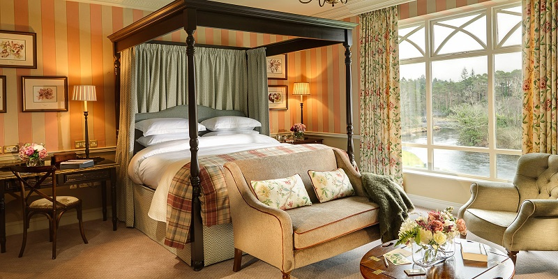romantic hotels ireland Ballynahinch Castle