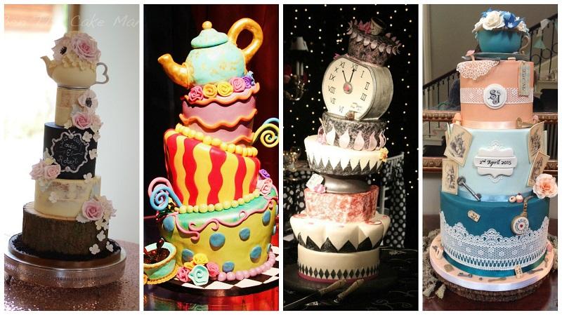 Alice in Wonderland themed wedding 2