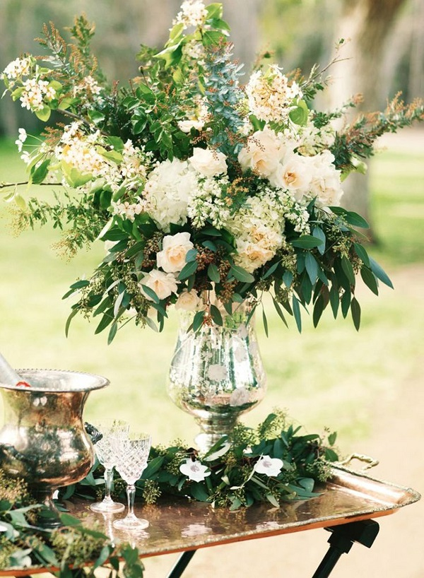 Bring the indoors out - image Once Upon a Wedding, Pinterest