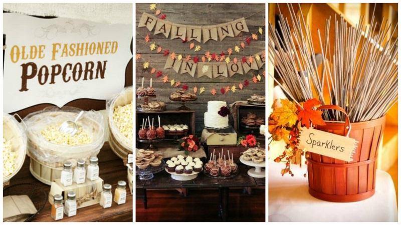 Autumnal wedding ideas 4