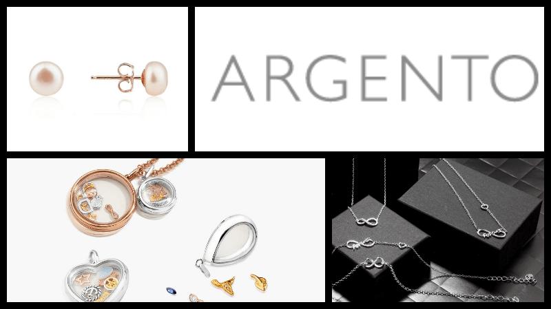 argento header collage