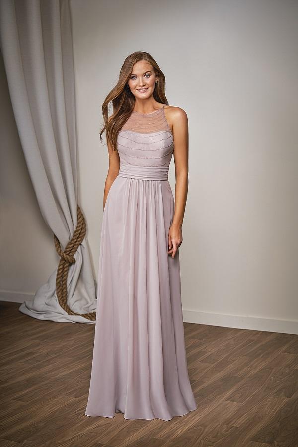 purple bridesmaids' dresses 5